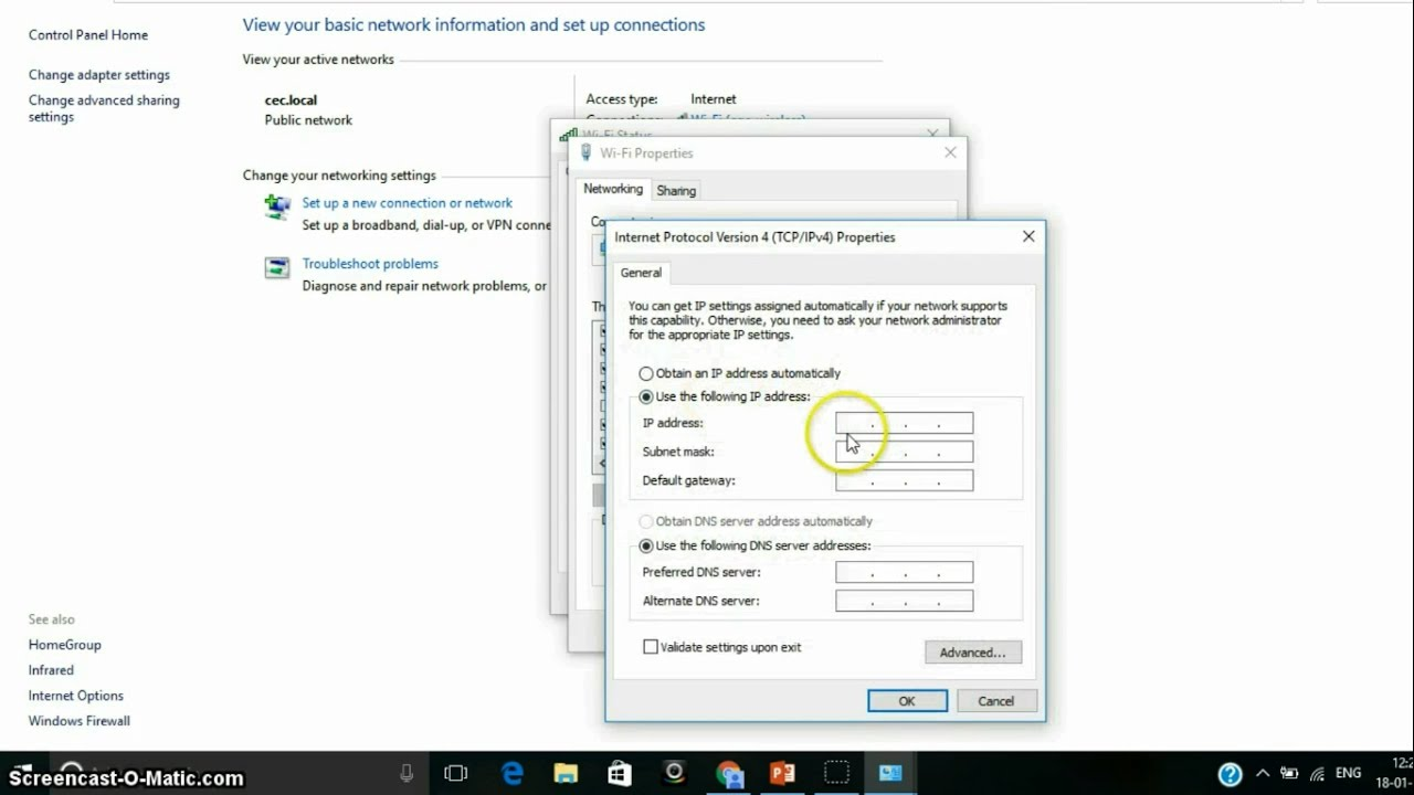 wifi doesn t have a valid ip configuration windows 8