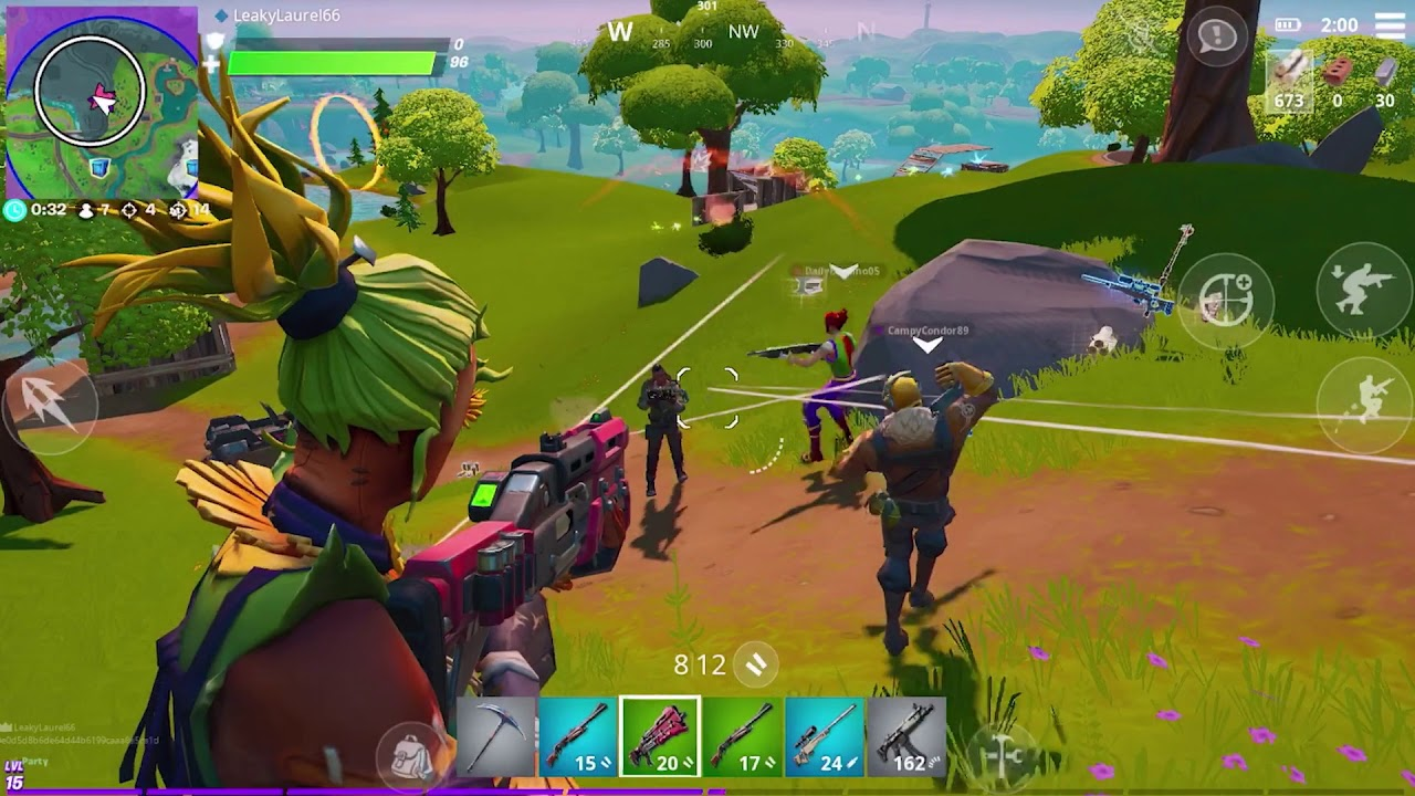 10 Best Battle Royale Games Like Pubg Mobile Or Fortnite On Android
