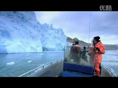 疯子实拍冰川崩塌的惊险震撼瞬间