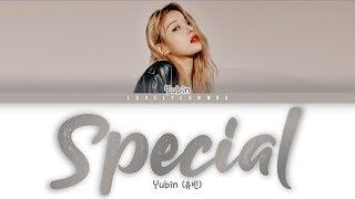 Download Yubin (유빈) – Special Lyrics (Color Coded Han/Rom/Eng)