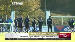 Morocco's Faycal Fajr sets sights on Gabon 2017