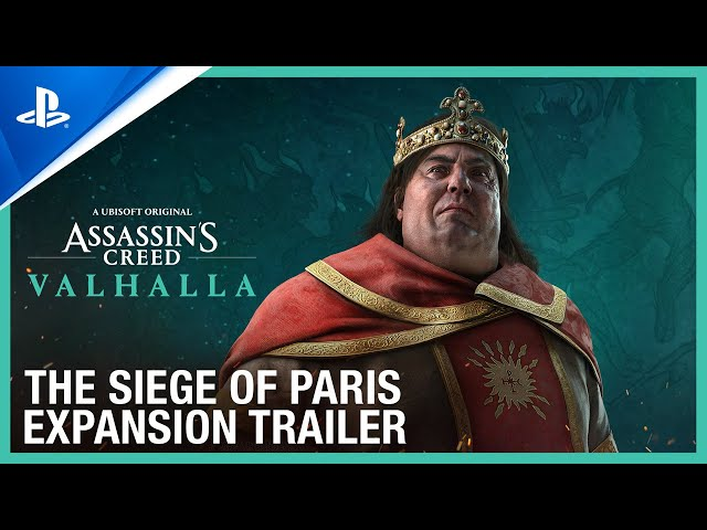 Assassin's Creed Valhalla - The Siege of Paris Expansion Trailer | PS5, PS4