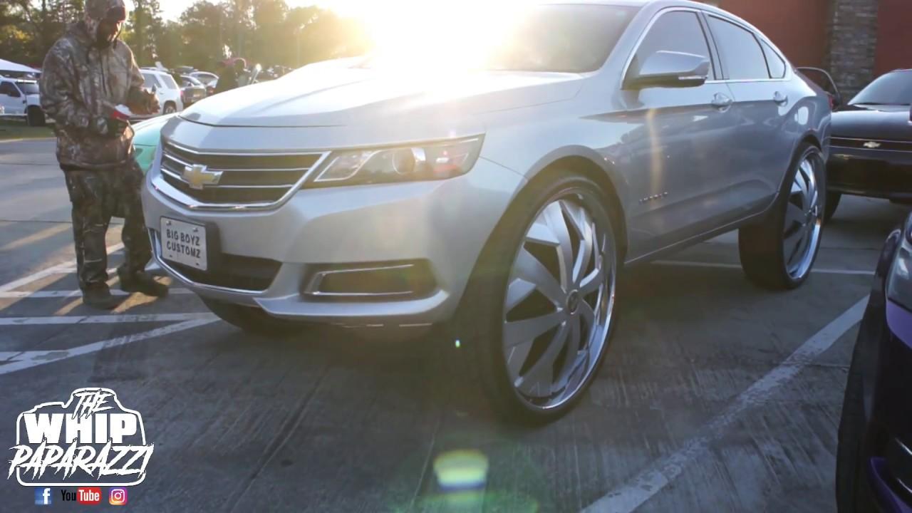 Chevrolet Impala On 32 Dub Floaters Magic City Classics Car Show