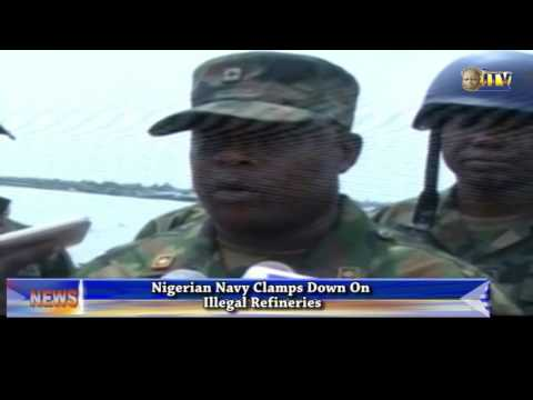 Nigerian Navy Clamps Down On Illegal Refineries