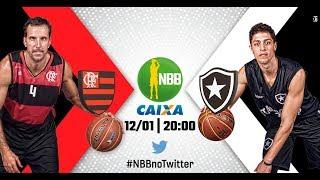 Flamengo 107 x 54 Botafogo   19.01.2018   #NBBnoTwitter