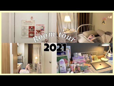 Room tour แต่งห้อง ทัวร์ห้องนอน ขนาดเล็ก + วิธีป้องกันเส้นผมขาดร่วงเต็มพื้น💗😳