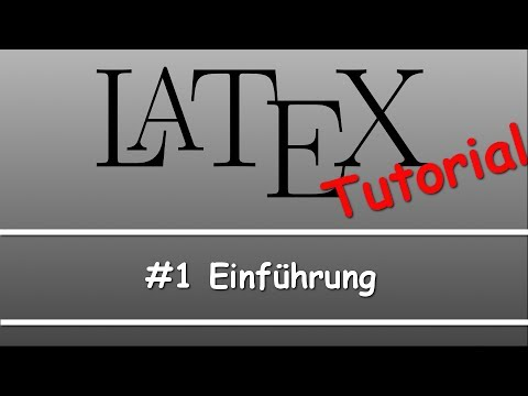 Latex Tutorial #01: Einführung from YouTube · Duration:  2 minutes 22 seconds