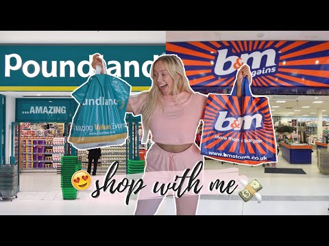 Shop With Me: POUNDLAND + B&M! NEW IN SEPTEMBER 2019