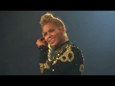 Beyoncé being cute