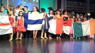 parade World Dance Master Blackpool 2013