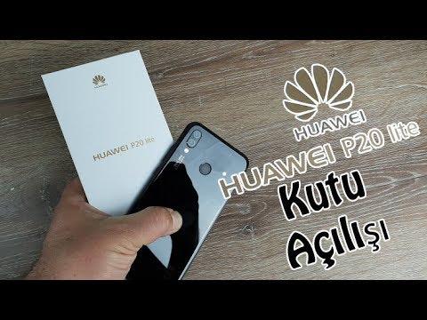 Huawei P20 lite Kutu Açılışı - Keşke Açmasa mıydık?
