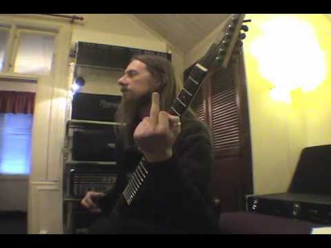 THE WRETCHED END guitar session 2011