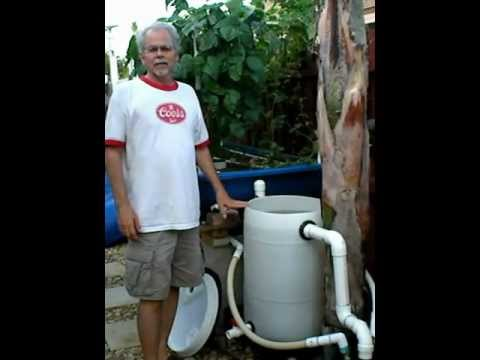 Aquaponics Swirl Bio Filter.avi