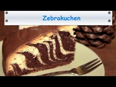 Zebrakuchen Sicheres Rezept Locker Und Saftig Youtube