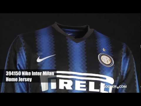 the best attitude 335cd ea573 Nike Inter Milan Long Sleeve Home Jersey