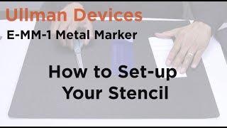 Yukarı Ayarlama-MM-1 Metal Marker-Ullman Cihazın E Şablon