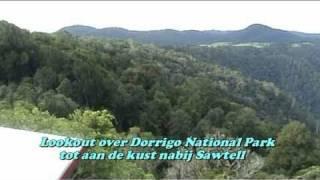 Bellingen en Dorrigo met Dangar Falls (Australië NSW)