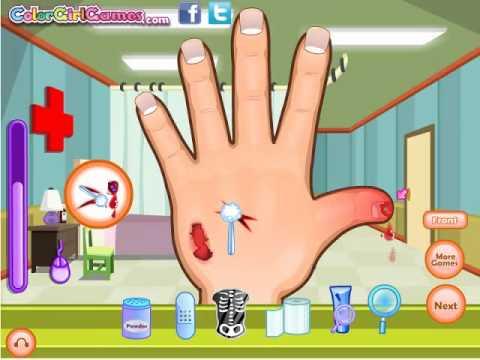 Online Free Games For Kids Dora Hand Doctor Dora Games