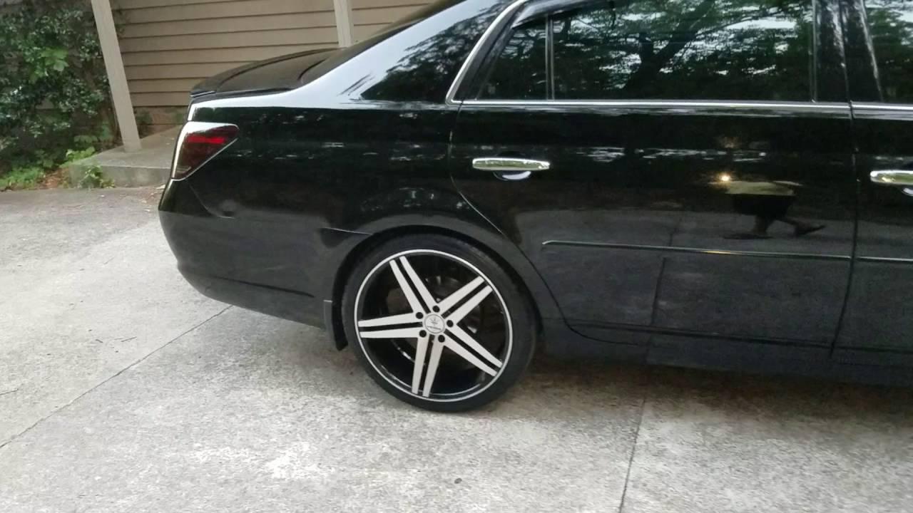"Toyota Avalon For Sale >> My toyota avalon 20"" wheels - YouTube"