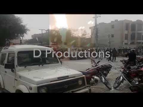 Cylinder Blast in Bank Bahawalpur - Danger Productions Network