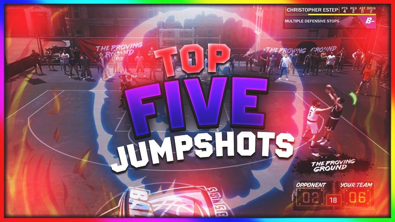 NBA 2K18 My Top 5 Best Non-custom Jumpshots