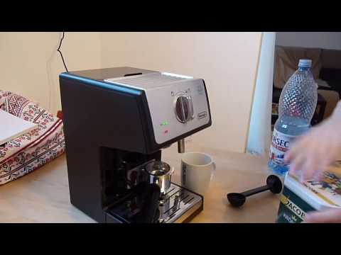 Unboxing of the DeLonghi ECP35.31 Pump Espressor Coffee Machine Silver colour