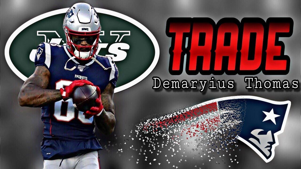 Patriots to trade WR Demaryius Thomas to Jets