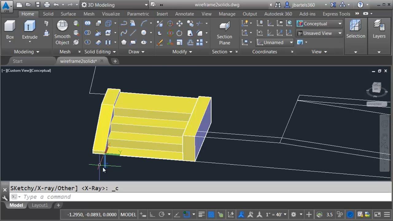 convert pdf to 3d model
