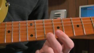 Auld Lang Syne Guitar Lesson Part 1