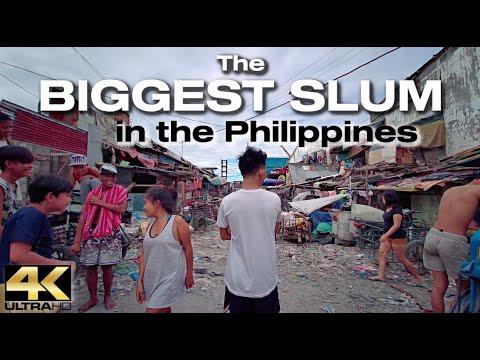 Walking the Biggest SLUM in the PHILIPPINES [4K]