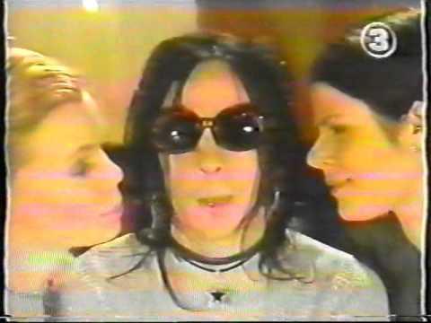 Backyard Babies - Dregen interview on Swedish TV show Silikon 1999