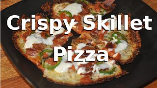 Crispy Skillet Pizza with KtO Keto