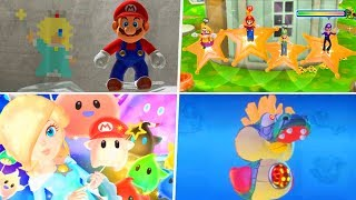 Evolution of Super Mario Galaxy References in Nintendo Games (2008 - 2019)