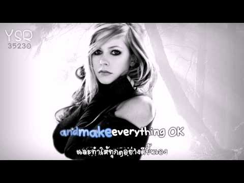 [Karaoke] I will be - Avril Lavigne [Eng - Thai sub]