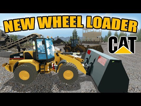 MINING SIMULATOR 2017 | NEW CATERPILLAR WHEEL LOADER PURCHAS
