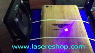 Miniature laser engraving machine 500mw Blue