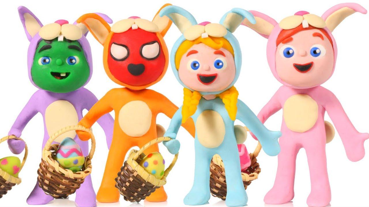 ❤ Kids Wearing Bunny Costumes ❤