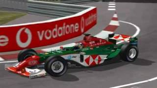 [F1C 99-02] Jaguar R5 em Monaco (Oceans Eleven Skin - RH2004) [HD]