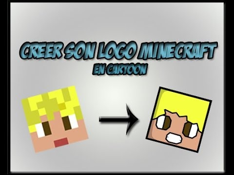 Bien-aimé Tutoriel] Créer son logo minecraft en cartoon - YouTube NG84
