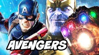 Avengers Infinity War Captain America Timeline Explained