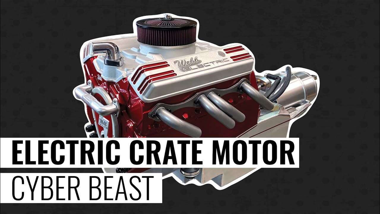 Introducing the Cyber Beast Electric SBC Crate Motor