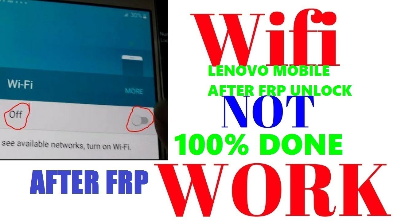Why does not Wi-Fi work