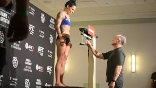 Lina Lansberg (135.5) Weigh-in at UFC 229