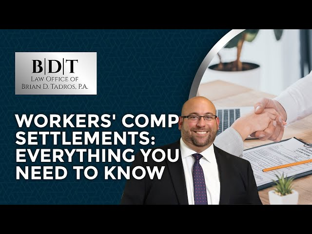 Workers' Comp Settlements: Everything You Need To Know