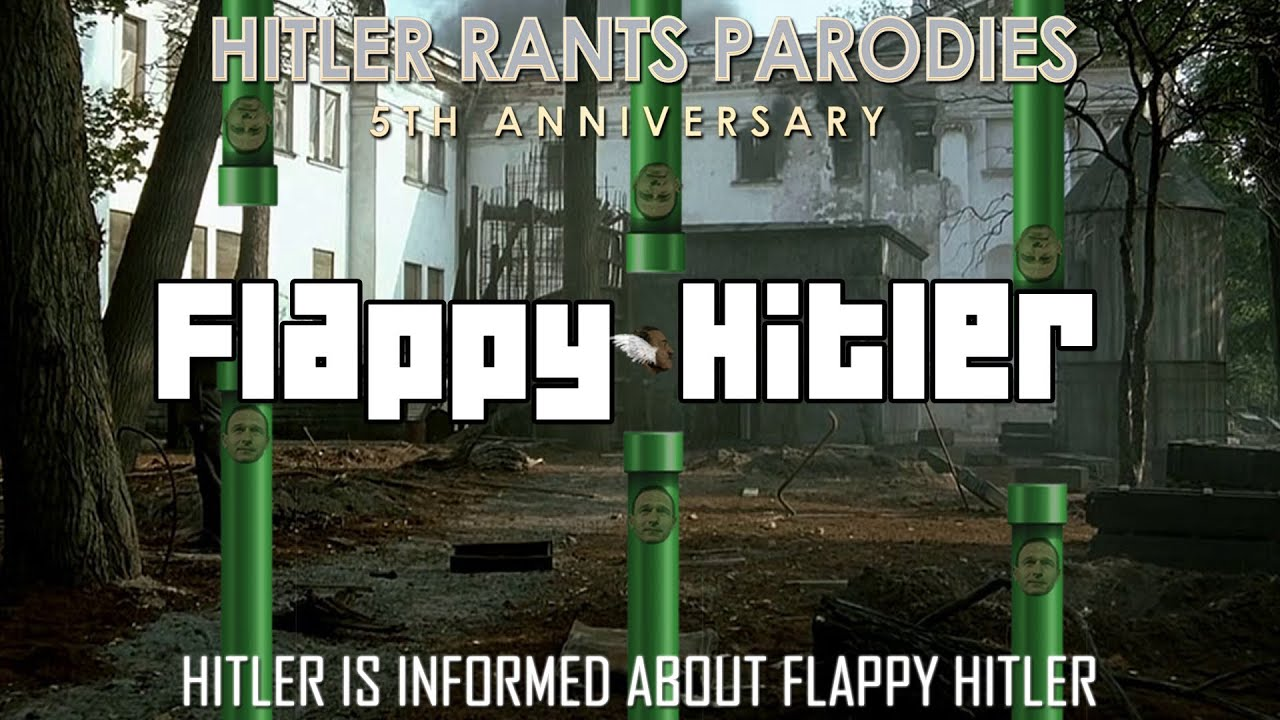 Hitler is informed about Flappy Hitler