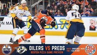 NHL 18 PS4. REGULAR SEASON 2017-2018: Nashville PREDATORS VS Edmonton OILERS. 03.01.2018. (NBCSN) !