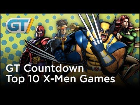 GT Countdown - Top 10 X-Men Games