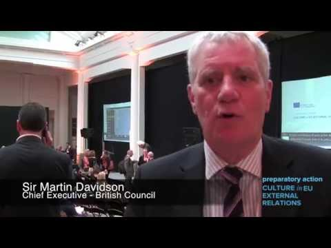 Sir Martin Davidson - Culture in EU External Relations