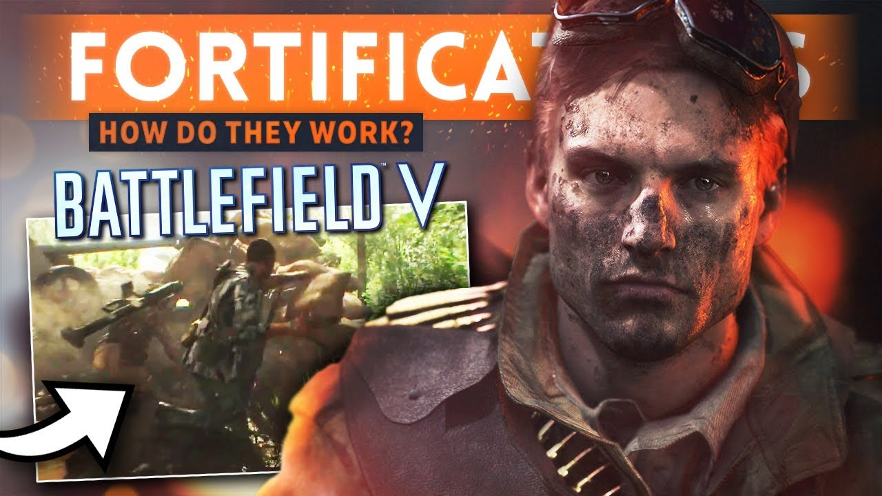 BATTLEFIELD 5: Fortifications & Destruction - How Will They Work In Battlefield V?