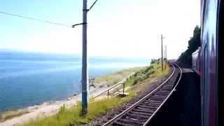 Trans-Siberian train riding around Baikal Lake